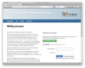 Hunderegister Niedersachsen
