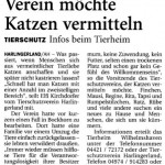 Aus dem Anzeiger für Harlingerland vom 09.04.2014