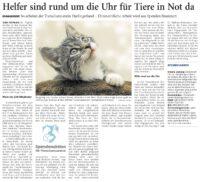 Anzeiger für Harlingerland sammelt für den Tierschutzverein